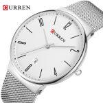 curren 8257 silver white 2