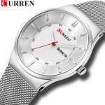 curren 8311 silver white 2