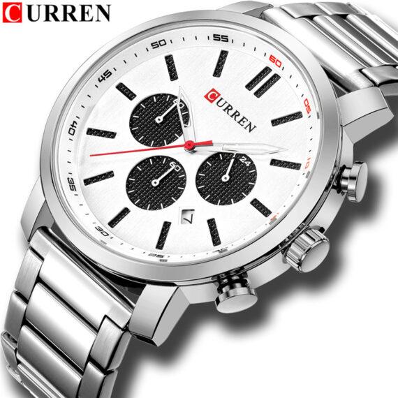 curren 8315 silver 2