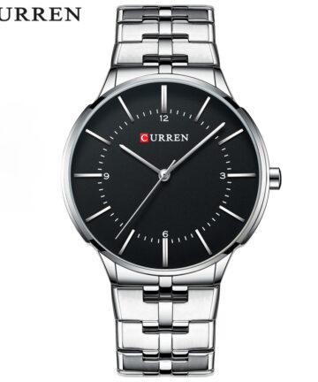 curren 8321 silver black 1