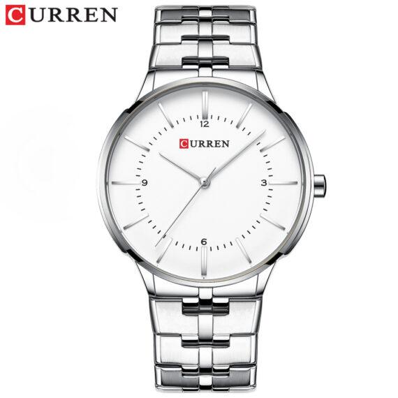 curren 8321 silver white 1