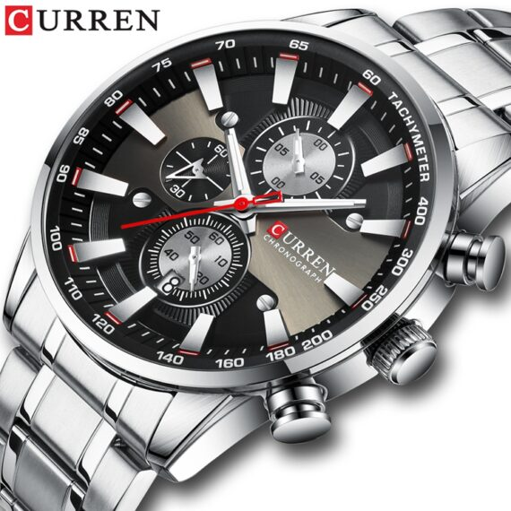 curren 8351 silver 2