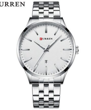 curren 8364 silver white 1