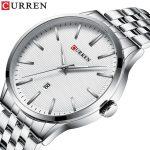 curren 8364 silver white 2
