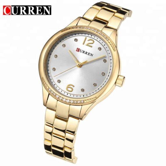 curren 9003 gold white 2