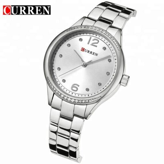 curren 9003 silver white 2
