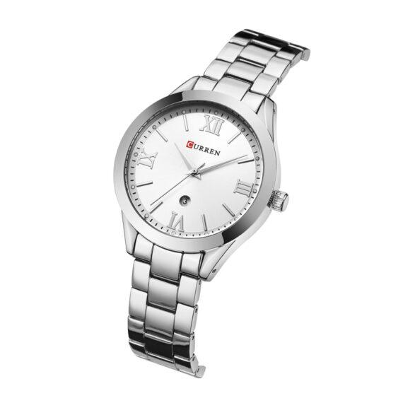 curren 9007 silver white 2