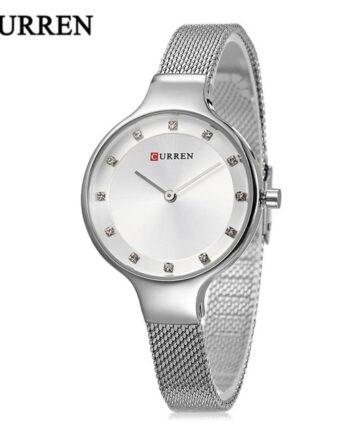 curren 9008 silver white 1