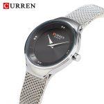 curren 9028 silver black 2