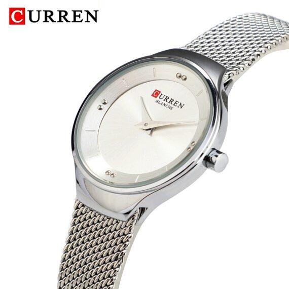 curren 9028 silver white 2