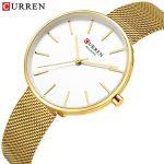 curren 9042 gold white 2